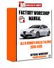 >> ITALIAN OFFICIAL WORKSHOP Manual Repair Alfa Romeo Giulietta 940 2010 - 2015