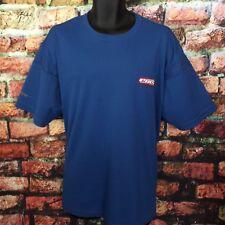 TOMMY HILFIGER Mens Logo T Shirt Jeans Blue Spellout Tee XL Since 1985 Hip Hop