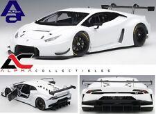 AUTOART 81527 1:18  LAMBORGHINI HURACAN GT3 (BIANCO ISIS/WHITE) SUPERCAR