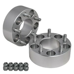 """2PC Hub Centric 2"""" (50mm) Wheel Adapter Spacers 5x100 for tC xD Corolla Camry"""