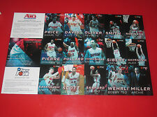 2013-2014 University of Dayton UD UNCUT Basketball Cards Sheet SHARP! Flyers