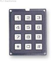 EAO - ECO.12150.06 - KEYPAD, 3X4 MATRIX, 20MA, 24V