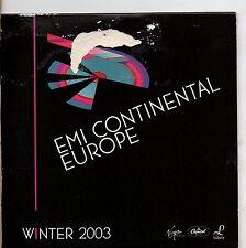 TIZIANO FERRO DAVID GUETTA HELMUT LOTTI CLIFF RICHARD ENIGMA CD promo EMI 2003