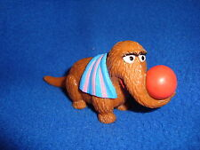 Sesame Street Snuffleupagus with beach ball and towel PVC Figure