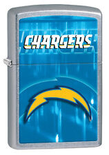 Zippo 2014 NFL San Diego Chargers Street Chrome Lighter Brand New in Box 28591