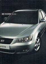 Hyundai Sonata 2007-08 UK Market Sales Brochure 2.0 3.3 V6 2.0 CRTD