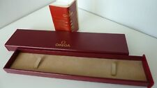 Omega Classic men's watch box witht the Omega booklet excellent