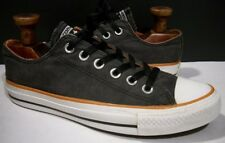 CONVERSE CHUCK TAYLOR ALL STAR WASHED BLACK OX CANVAS LOW SNEAKERS M5 W7 142236F