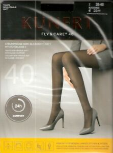 Kunert - FLY & CARE 40 - Strumpfhose Gr. I - V schwarz, cashmere, teint
