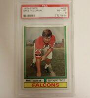 1974 Topps #402 Mike Tilleman PSA NM-MT 8