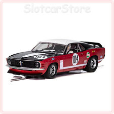 "Scalextric c3926 Ford Mustang Boss 302 1970"" nº 104"" British Saloon cc 1:32 auto"