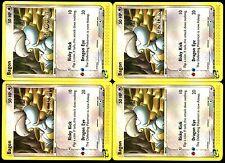 Lot de 4 Cards PROMO POKEMON BAGON 50/97 (NORMAL + SCRYE + INQUEST + GENCON VHTF