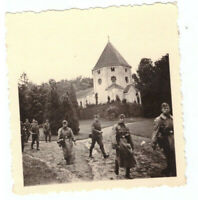 Foto 2.WK  deutsche   Soldaten  Luftwaffe   Frankreich 1940 Wehrmacht WW2 E25