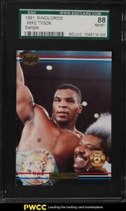 1991 Ringlords Sample Mike Tyson SGC 8 NM-MT
