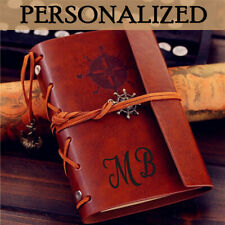 Birthday Gift Vintage PU Leather Bound Blank Notebook Journal Gifts idea