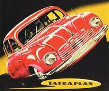 Print.  Red 1951 Tatra T 600 Tatraplan Auto Ad