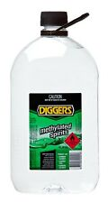 Diggers Methylated Spirit Metho 4 Litre Hard Surface Cleaner Disinfectant