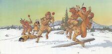 Jaquette Plume aux Vents Combat dans la neige