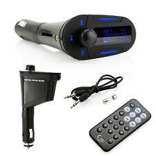 Car Kit Mp3 Player Wireless Fm Transmitter Modulator Lcd Usb Sd Mmc w/Remote
