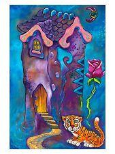 SIGNED by Jason Becker+Gary Becker Art Print LOVE IS A DREAMING ROSE (12x9 In.)