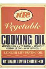 40 X 20L KTC Vegetable Cooking Oil 20 Litres Restaurant, Chip Shop, Catering