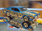 HOT WHEELS SPECIAL CUSTOM '69 MERCURY CYCLONE with Real Riders. HW FLAMES 10/10.