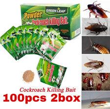 100pcs Effective Powder Cockroach Killer Bait Repeller Killing Trap Pest Control