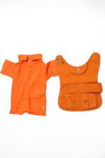 New listing Ralph Lauren Blue Label Unisex Dog Coat Polo Short Orange Size Medium Large