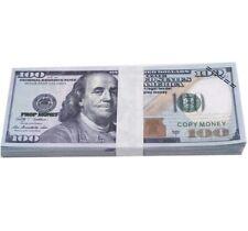 New ListingProp/Replica Money/Movie Money/Gag Money/Tv Money/$10,000/1 Stack Of 100pcs