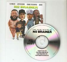 NO BRAINER DJ KHALED JUSTIN BIEBER CHANCE THE RAPPER QUAVO WE THE BEST CD PROMO