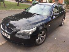 BMW 5 Series 520d E60 2006 black estate