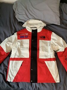 Supreme x North Face Expedition Jacket Red/White L FW18