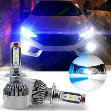 H7 Dual-Color Xenon White Ice Blue LED Headlight Bulbs Lamp For Chevrolet Mazda