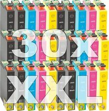 30x cartucho tinta compatible Non-Oem 16XL para Epson wf2510wf wf2520nf wf2530wf