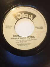 "BRENDAN SHINE 7"" MELODY FOR YOU / ACCORDION INSTRUMENTAL PLAY 203"