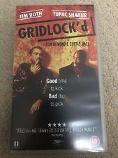 VHS Video Tape - Gridlock'd