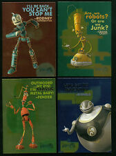 ROBOTS THE MOVIE (INKWORKS 2005) Complete RETAIL EXCLUSIVE Foil Chase Card Set