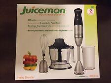 Brand New Juiceman Hand Blender HBOOO1S HB0001S