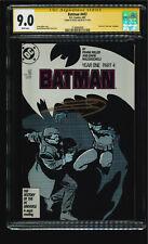 Batman 407 -> Signed by Frank Miller (SS) -> CGC 9.0