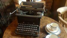 LC Smith & Corona Typewriter Vintage ~ 1920's Black film prop