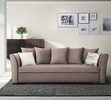 Exklusives Big Sofa Schlafsofa Bettsofa SANREMO mit Bettkasten mit Farbauswahl