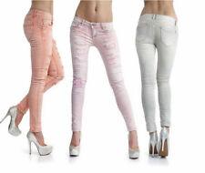 Jeans da donna bassi bianco taglia 42