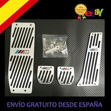 PEDALES + REPOSAPIÉ ALUMINIO ANTIDELIZANTES PARA BMW M3 M5 M6 E30  E34 E46 E90
