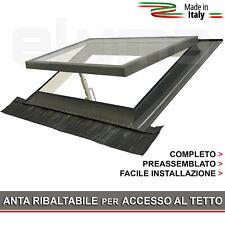Lucernario / Finestra da tetto CLASSIC VASISTAS 90x48 (Doppio Vetro CE) Mansarda