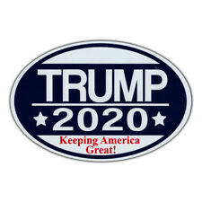 Oval Shaped Magnet - Donald Trump 2020 - Republican Magnetic Bumper Sticker