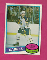 1980-81 OPC # 319 SABRES  LINDY RUFF  ROOKIE EX-MT CARD  (INV#1564)