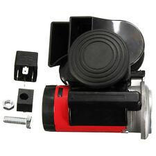 Snail Air Horn Compact SUV Car Truck Loud Electric Whistle Dual Tone 139DB 12V