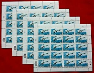 Four x 20 = 80 of Navy Submarines LOS ANGELES CLASS 33¢ US USA Stamps. Sc # 3372