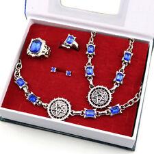 Anime Black Butler Ciel Phantomhive Necklace Ring Earrings