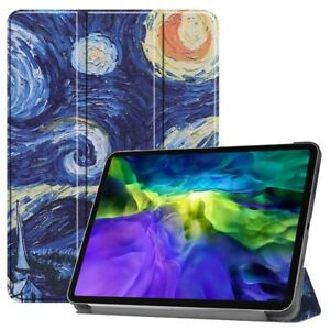 """For Apple iPad Pro 11"""" Inch Magnetic Smart Case Cover - Starry Night by Van Gogh"""
